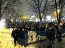 УкРАїнський Клуб. Марш Павліченки (зверніть увагу на прапори)